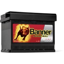 Banner  Power Bull 12V  62Ah 550A