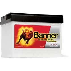 Banner  Power Bull PROFESSIONAL 12V  63Ah 600A