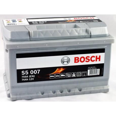 Bosch S5 74Ah 750A