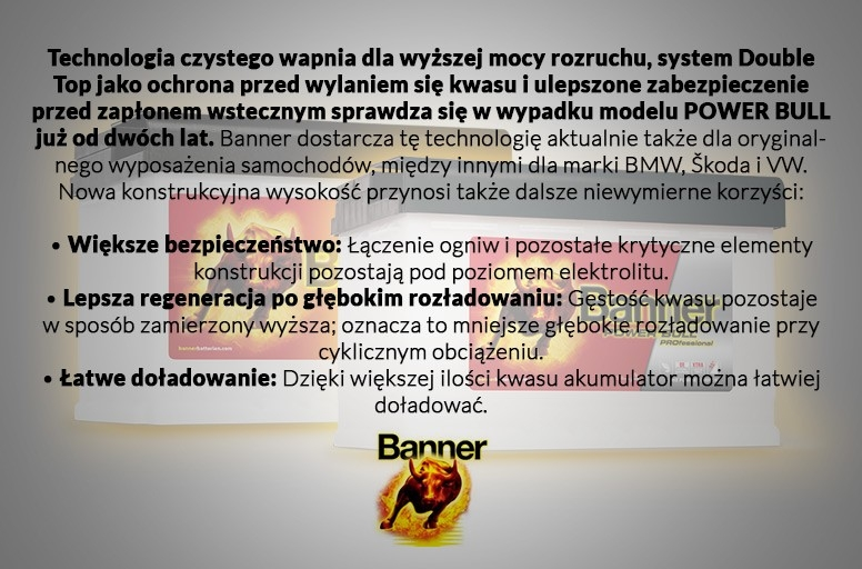 Banner - opis